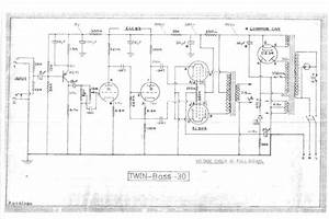 Selmer Twin Bass 30 Amplifier Schematic