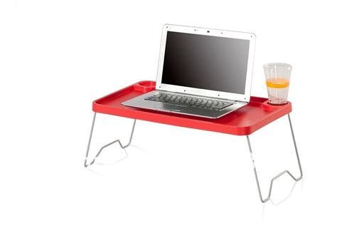 Laptop Stand With Metal Leg,plastic Folding Table,portable