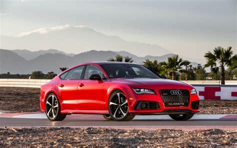 Audi Rs7 Red V8 Car Wallpaper