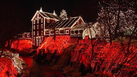 led christmas lights wallpaper high definition high