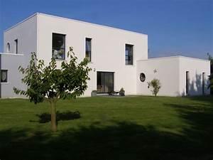 maison contemporaine toit plat constructeur 76 With charming photo maison toit plat 5 photo de maison neuve toit plat