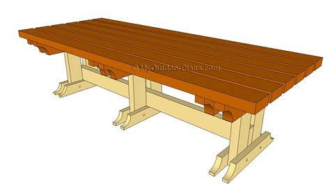 garden table  bench plans  woodworking