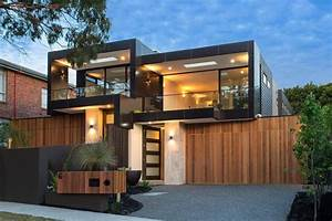 Bold square shapes on the exterior and contemporary ...