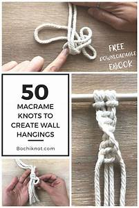 Macrame Knots For Beginners 101  Learn The Basic Macrame