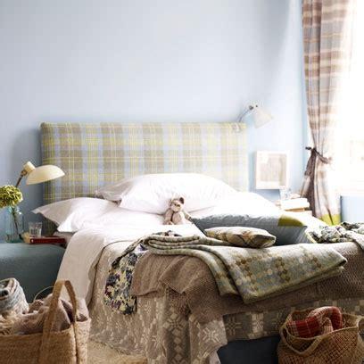 tartan fabric  colour  pattern decorating ideas