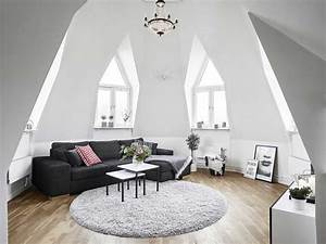 39+ Attic Living Rooms That Really Are The Best - Adorable