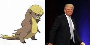 new pokemon character looks like donald trump