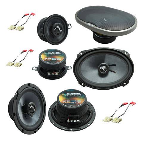 fits jeep grand 1999 2004 oem premium speaker replacement harmony upgrade kit ha spk