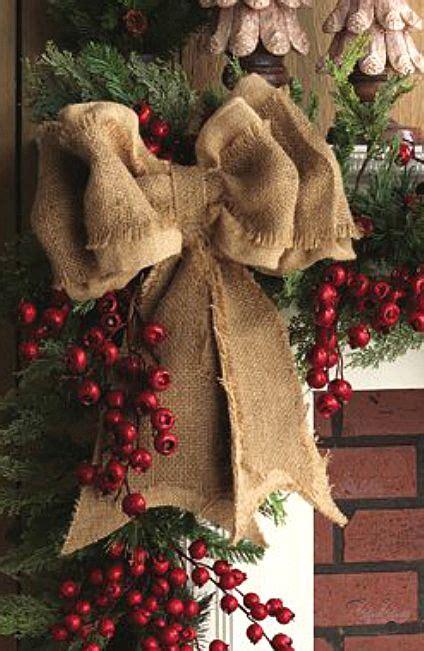 ideas  christmas mantle decorations