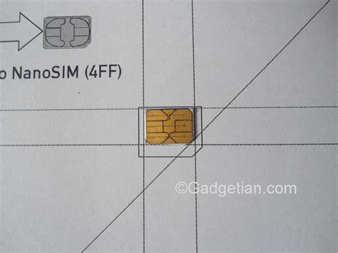 easily convert  cut sim card  nano sim