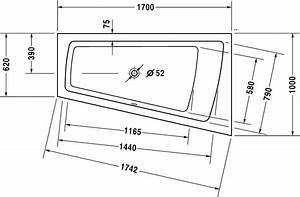 Badewanne Größe Standard : paiova badewanne 700213 duravit ~ Sanjose-hotels-ca.com Haus und Dekorationen
