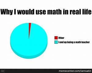 Why I Would Ever Use Math In Real Life by iamsatin - Meme ...