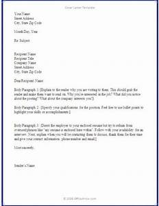 writing a cover letter basics covering letter example With how to write a cover letter