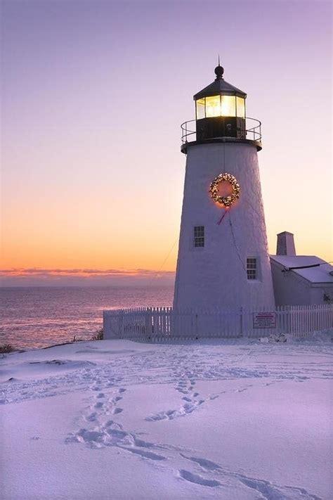 lighthouses decorated  christmas ib designs usa blog