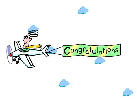 Animated Congratulations Clipart  Clipart Suggest