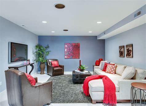 Sky Blue Basement   10 Basement Paint Colors   Bob Vila