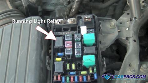 fix running light problems    minutes