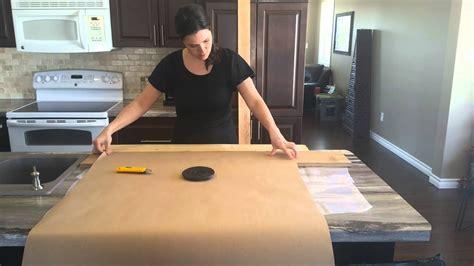 Paper Bag Flooring   Cut Paper Planks