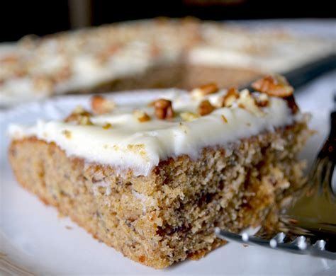 super moist banana nut sheet cake recipe