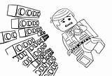 Lego Coloring Pages Adventure Brick Sheets Clipart Printable Block Emmet Funny Pattern Sheet Template Wall Coloriage Briques Coloriages Templates Minecraft sketch template