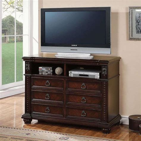 Bedroom Tv Stand Australia by Buy Daruka Tv Console With 6 Drawers And Component Storage