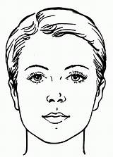 Coloring Pages Face Makeup Human Sheets Adult Sad Printable Template Coloringhome Little Chart Print Pop Water Works Faces Colouring Popular sketch template
