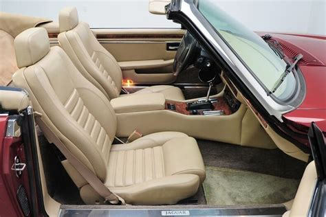 New Jaguar Xjs Coupe Or Convertible Leather Seat Covers