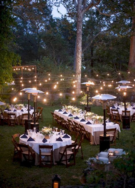 Adorable 56 Inexpensive Backyard Wedding Decor Ideas https