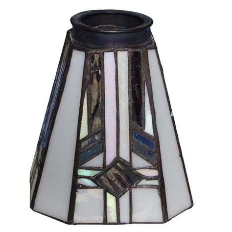 Menards Ceiling Fan Light Shades by Patriot Lighting 2 1 4 Quot Flitter Square Glass At