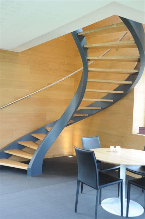 escalier double limon caisson exterieur escalier la