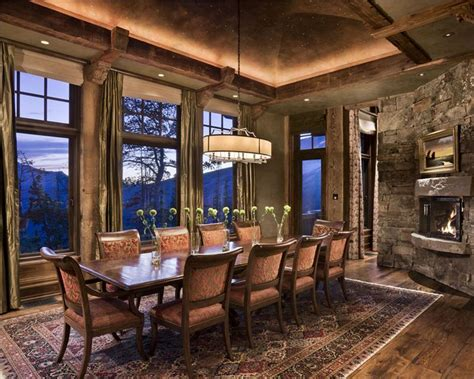 totally inviting rustic dining room designs page