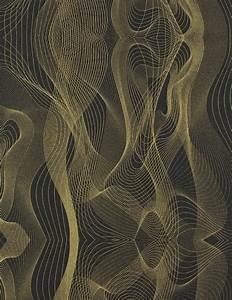 Schwarz Gold Tapete : karim rashid vliestapete globalove tapete 55056 design schwarz gold ~ Yasmunasinghe.com Haus und Dekorationen