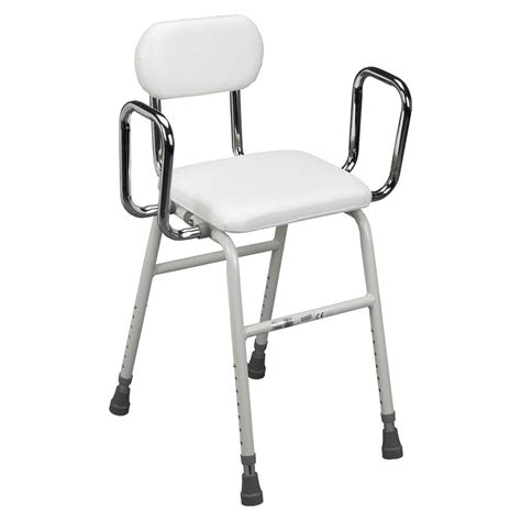Stool With Arms Drive All Purpose Stool With Adjustable Arms Carts