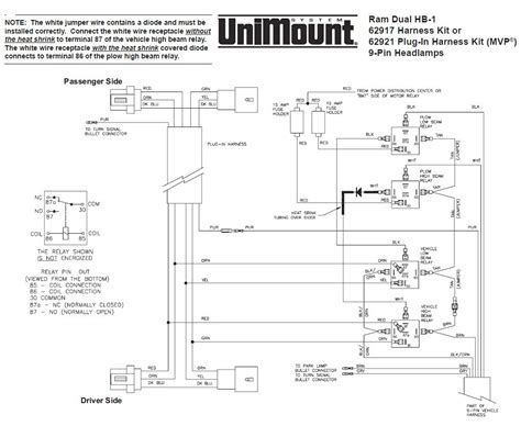Wiring Diagram For Fisher Plow Lights
