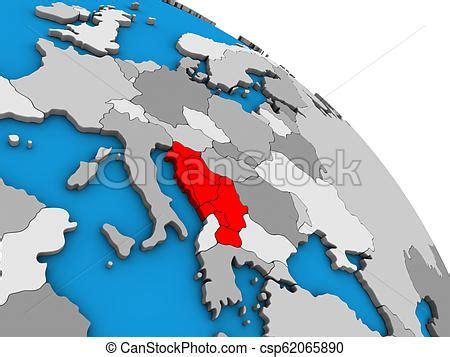 yugoslavia   globe yugoslavia  simple blue
