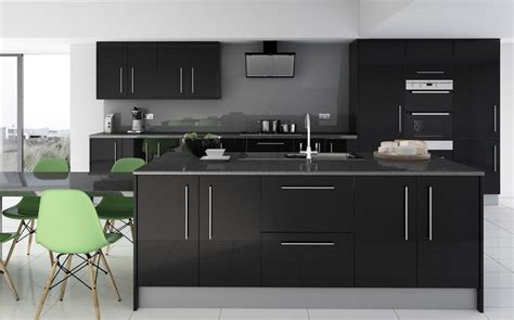 7 Piece Kitchen Units  Grey Glass Effect  Brand New