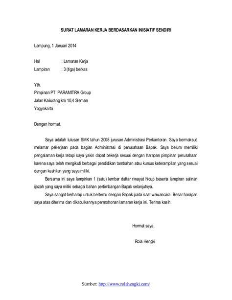 Contoh Sppd Yang Benar by Contoh Surat Lengkap Contoh Surat Lamaran Kerja Yang Baik