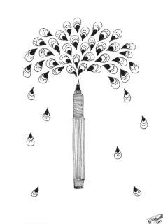 Ballpoint Pen Challenge🖊 | Art Amino