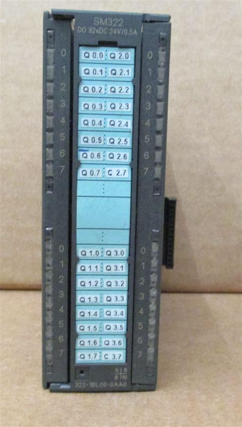 Siemens 6es7 3221bl000aa0 Simatic S7300 Sm 322 Digital