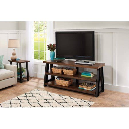 better homes and gardens tv stand better homes and gardens mercer 3 in 1 brown tv stand for