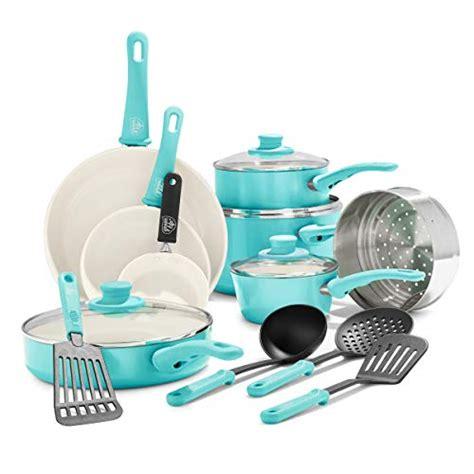greenlife soft grip  piece ceramic  stick cookware set review