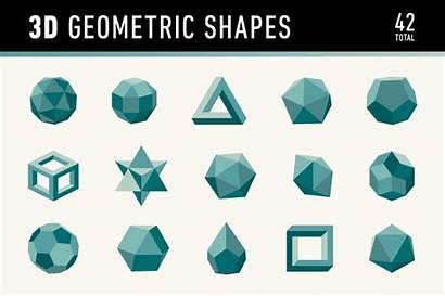 Shapes Geometric 3d Shape Creative Dimensional Graphics