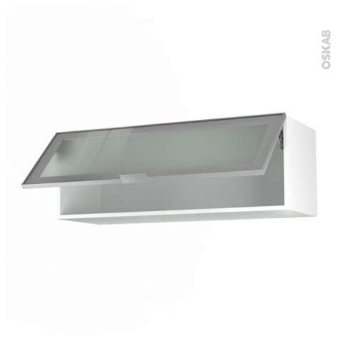 ikea logiciel cuisine 3d meuble de cuisine haut abattant vitré façade alu 1 porte