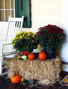 Fall, Decorating, Ideas, For, Outside