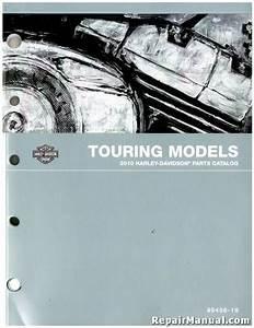 2010 Harley Davidson Touring Motorcycle Parts Manual