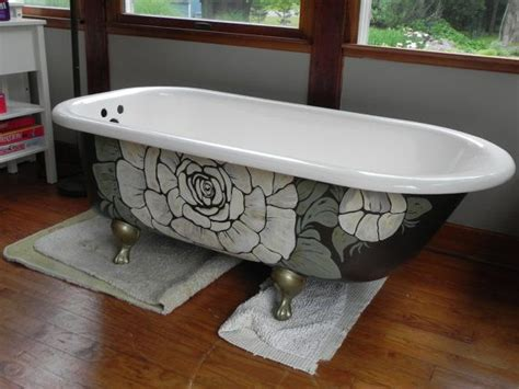 Can You Paint A Clawfoot Tub by How To Paint A Clawfoot Tub Exterior Tcworks Org