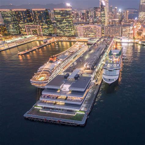 foster designed ocean terminal extension opens  hong kong skyrisecities