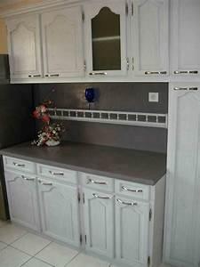 meuble cuisine chene massif great meuble cuisine en chene With repeindre un meuble en chene