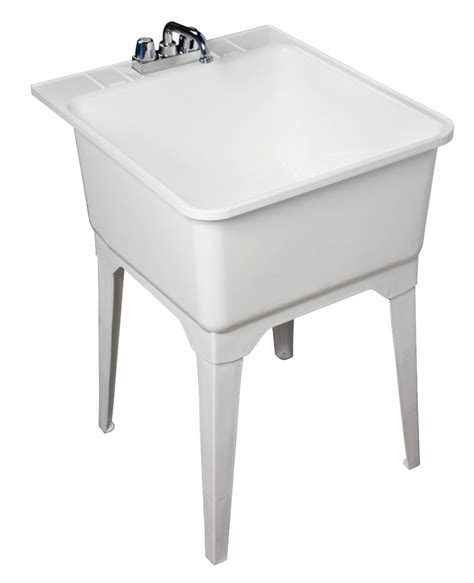Laundry Utility Sink by Drake Mechanical Laundry Sinks