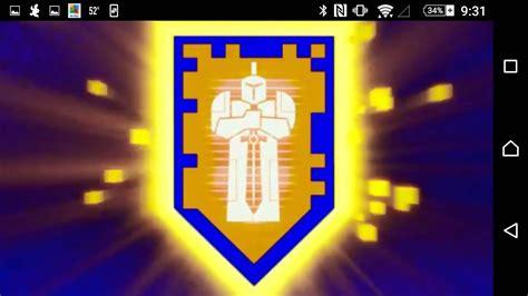 Triple Nexo Knights Shield Scan